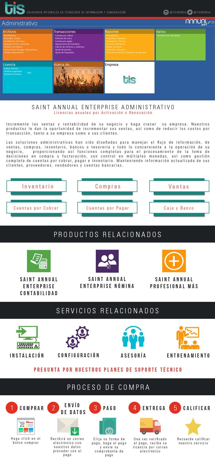 Licencia Annual Enterprise Administrativo